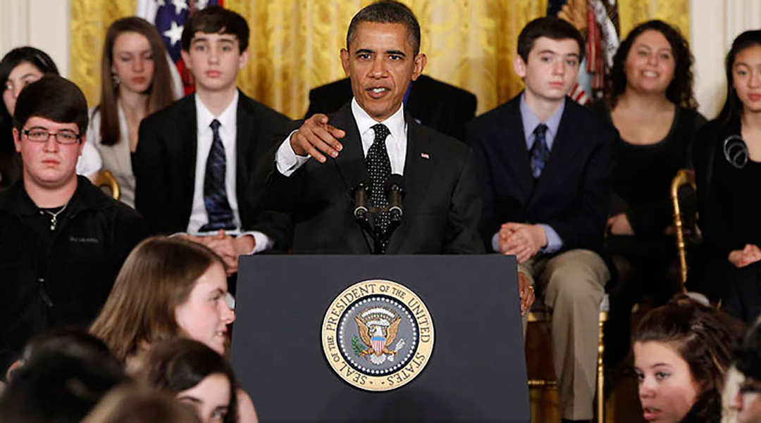 President Obama at White House Science Fair